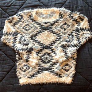 Urban Outfitters Eyelash Sweater